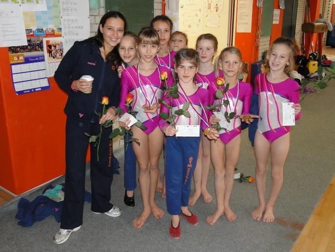 Državne prvakinje s trenerko Vesno Stavrev