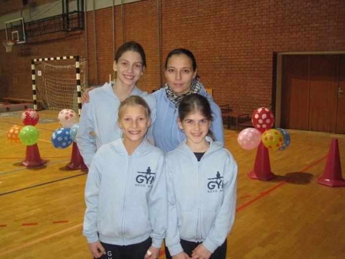 Maja, Nina, Vesna in Neža