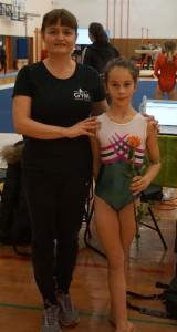 Gaja s trenerko Matejo